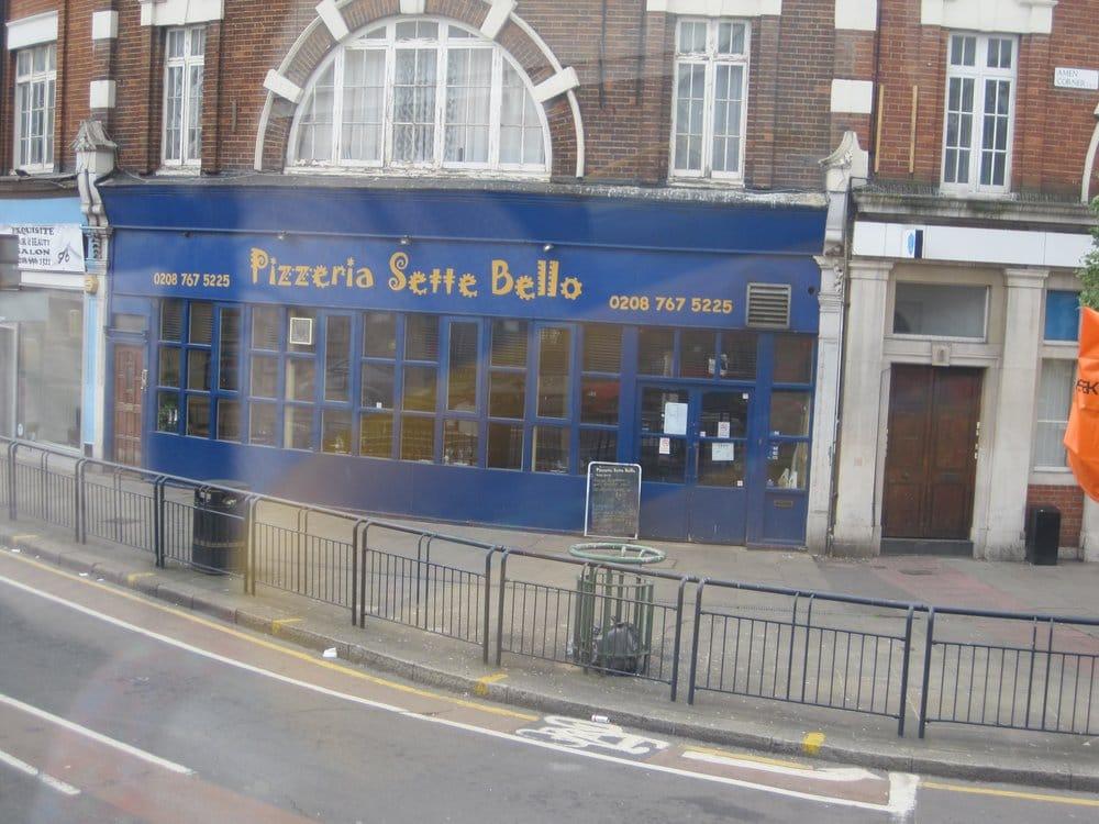 Pizzeria sette bello pizzer a 8 amen corner tooting - Cyberdog london reino unido ...