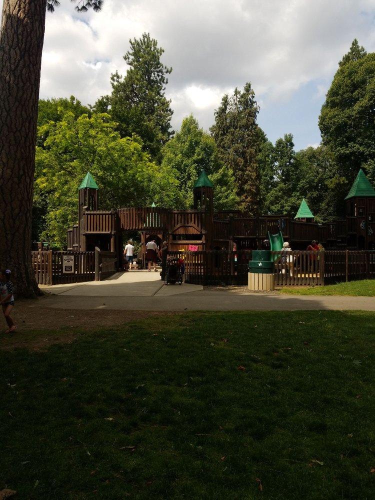 Ft Sherman Playground: N Idaho Centennial Trl, Coeur d'Alene, ID