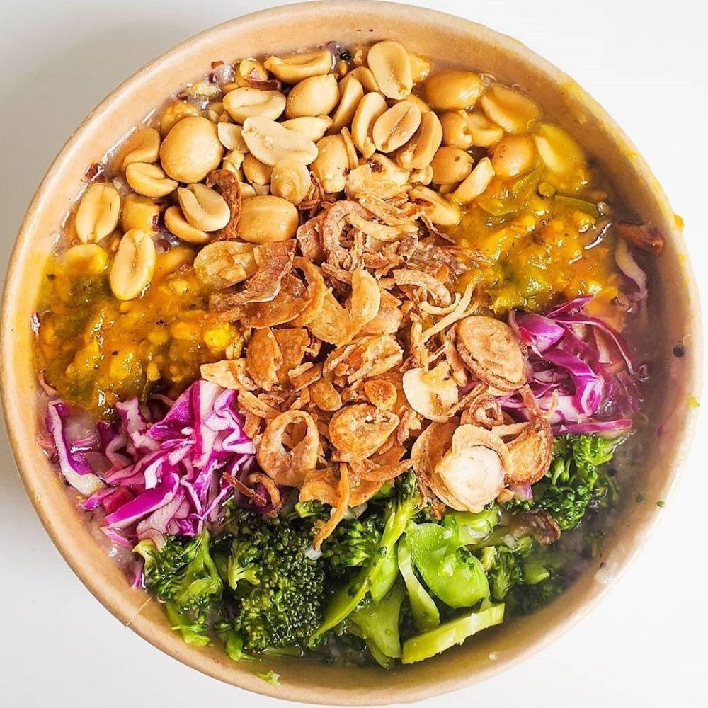 Food from Maya Congee Cafe
