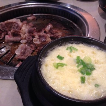Photo Of So Korean Barbeque Centreville Va United States Steamed Egg