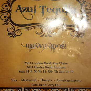 Photo Of Azul Tequila   Eau Claire, WI, United States. This Is The