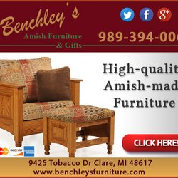 Great Photo Of Benchleyu0027s Amish Furniture U0026 Gifts   Clare, MI, United States. Ad