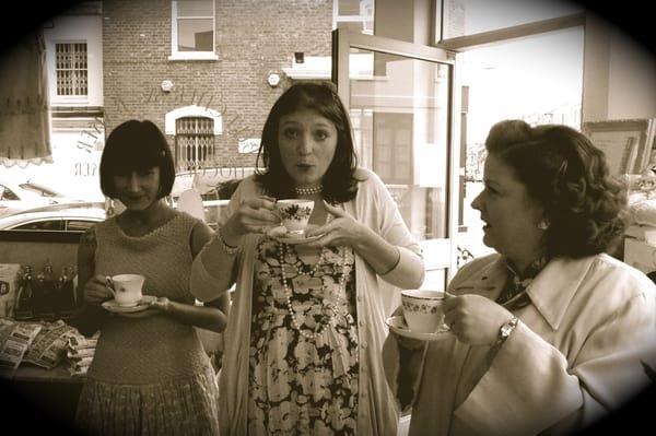 betty blythe tea room london