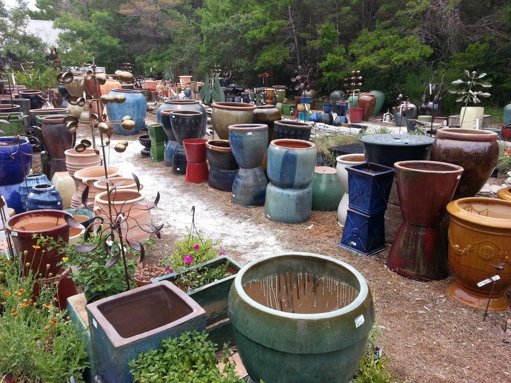 clay garden pottery nurseries gardening 4808 e scenic hwy 30a santa rosa beach fl