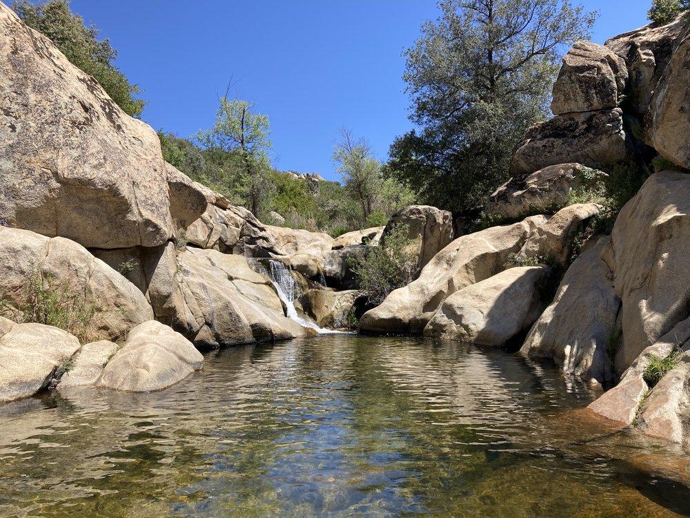 Dead Horse Falls Trail: 24916 Viejas Blvd, Descanso, CA