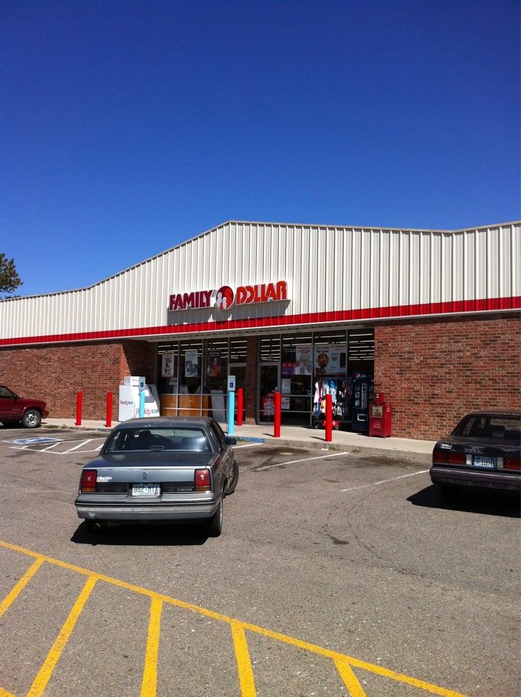 Family Dollar Store: 802 Walsen Ave, Walsenburg, CO