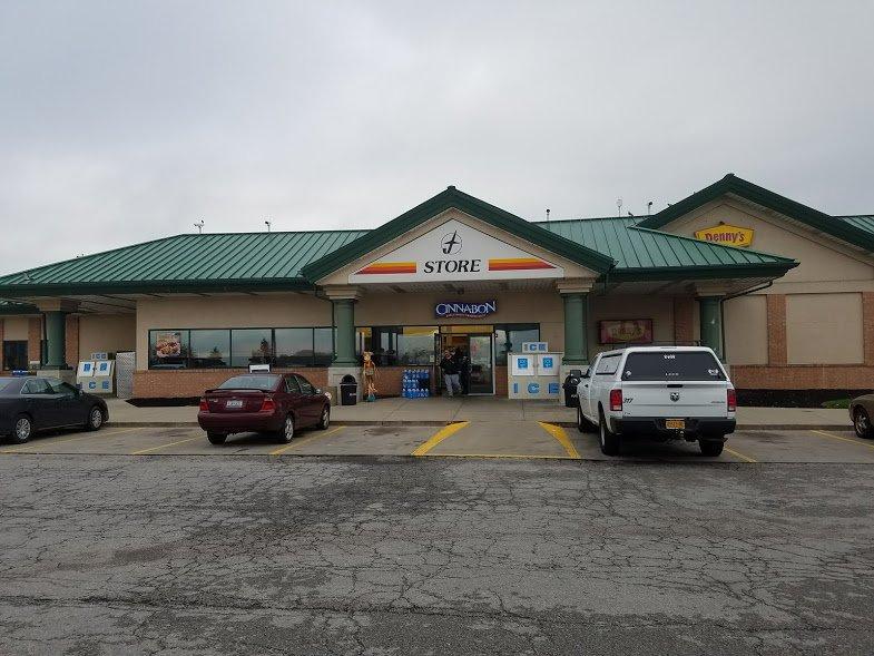 Cinnabon: 9935 State Hwy 41, Jeffersonville, OH