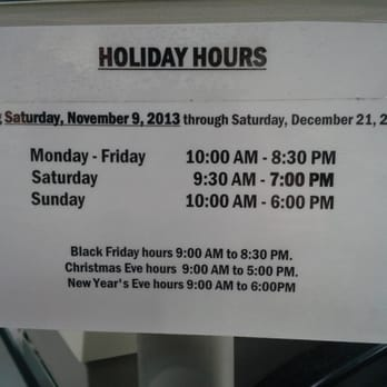 Costco Christmas Eve Hours.Costco Wholesale Holiday Hours Pacific Commons Shopping