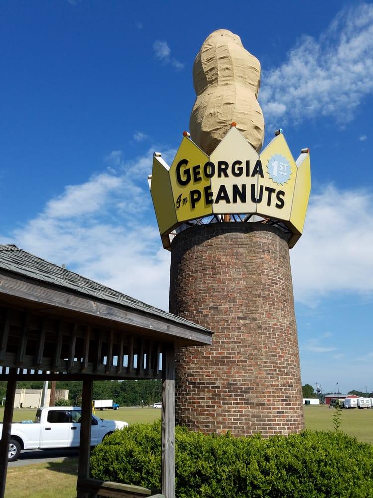 World's Largest Peanut: Highway 401, Ashburn, GA