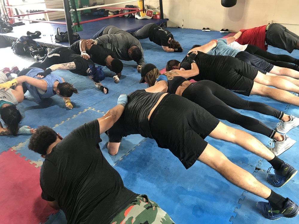 Adam's Bootcamp Boxing