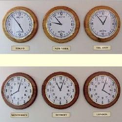 Photo Of Office Clocks   Somerville, NJ, United States. Model DW