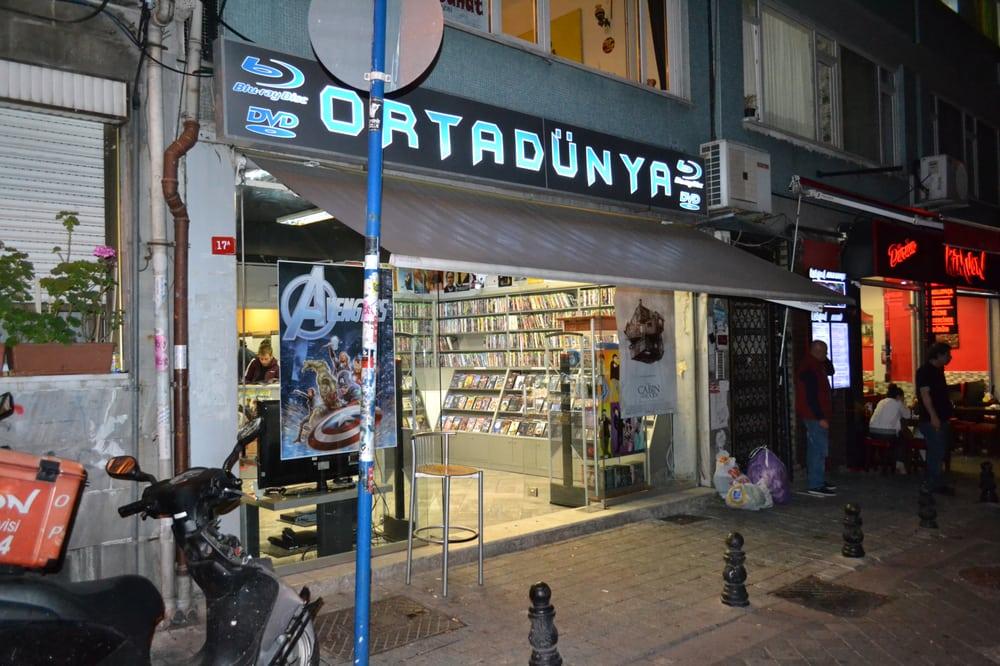 Orta Dünya DVD VCD: Caferağa Mahallesi Kadife Sokak, Istanbul, 34