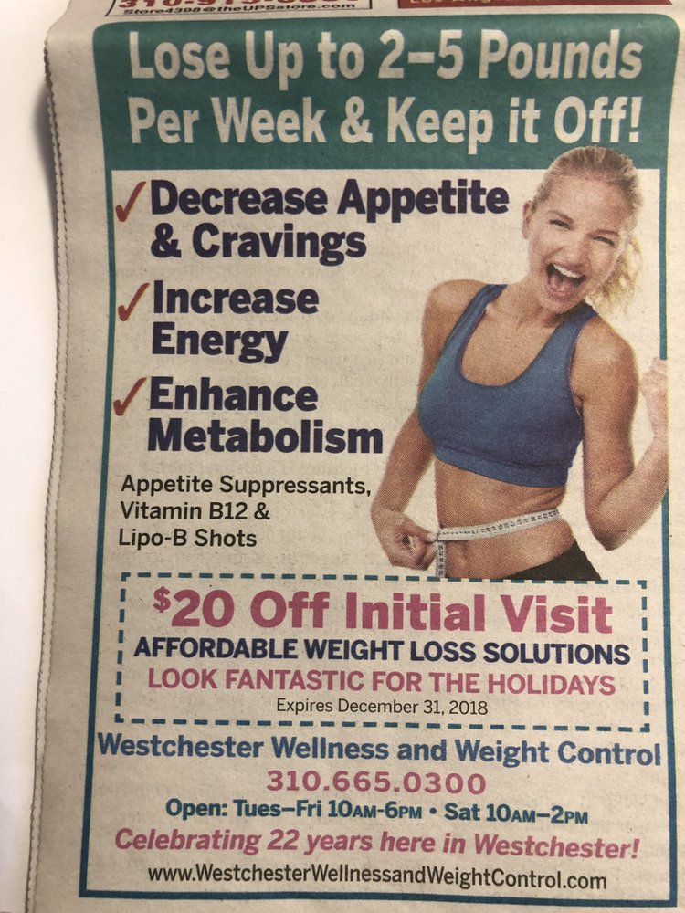 Westchester Wellness & Weight Control Center: 6320 W Howard Drollinger Way, Los Angeles, CA