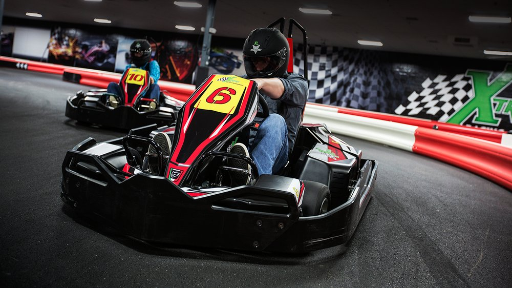 Adult race karts  Speeds approaching 50 MPH  - Yelp