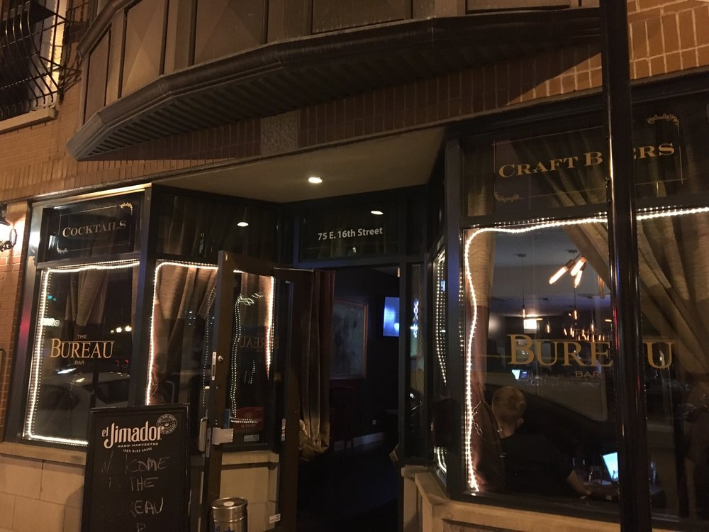 The Bureau Bar: 75 E 16th St, Chicago, IL
