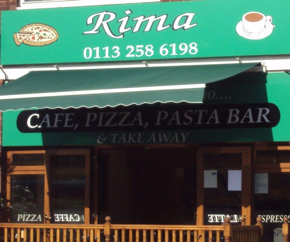 Rima pizzerie 194 new road side horsforth leeds - Rima con finestra ...
