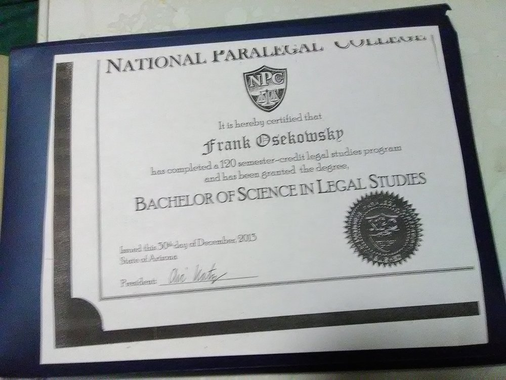 Franks Paralegal Services 10 Photos Legal Services 1454 W 19th