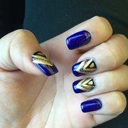 Gel Manicure Photo De Natural Nails Chapel Hill Nc États Unis