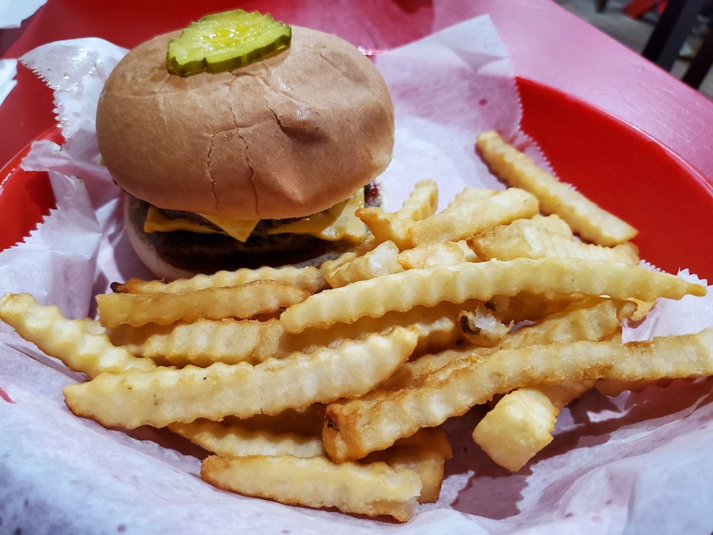 Food from Yonah Burger