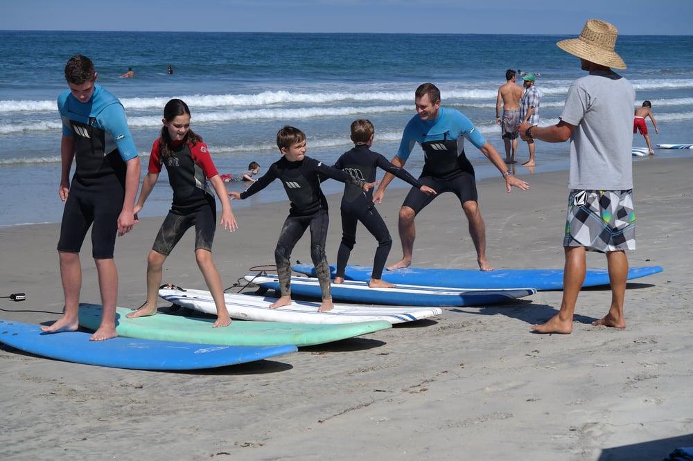 SoCal Surf Lessons: Carlsbad, CA