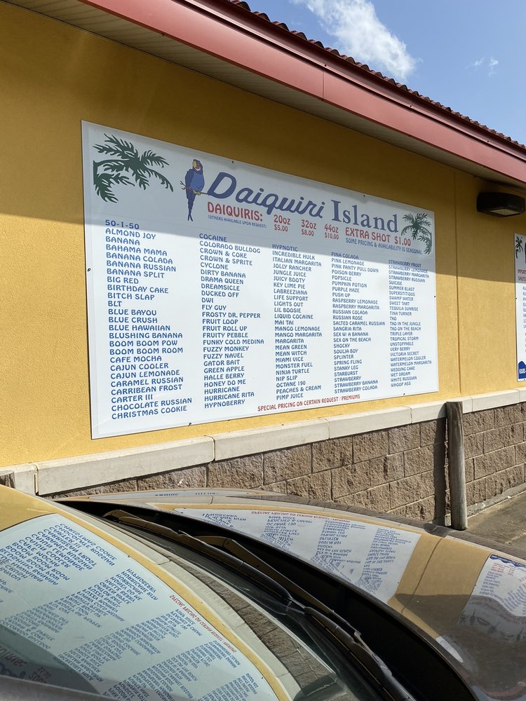 Daiquiri Island: 349 Acton Rd, Bunkie, LA