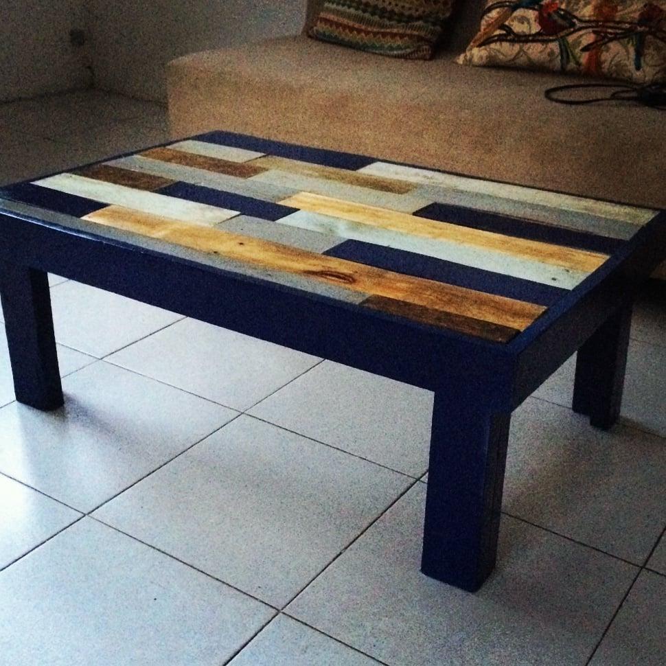 Mobiliario Para Negocio Hecho De Madera De Pallets Muebles