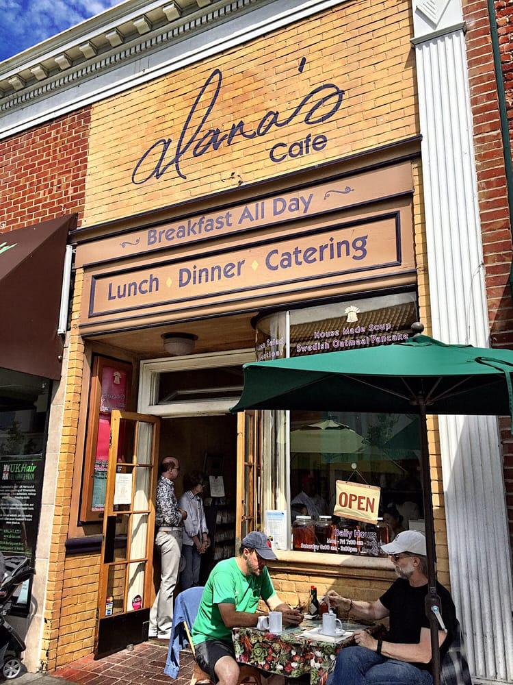 Alana S Cafe Burlingame Ca