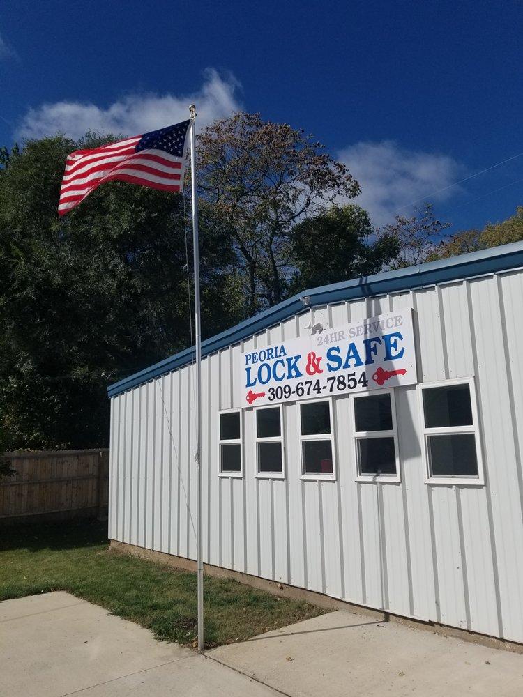 Peoria Lock & Safe: 1421 NE Jefferson Ave, Peoria, IL