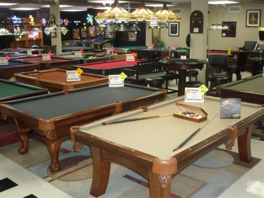 Ace Game Room Gallery Furniture Stores 2525 W Jefferson Blvd Fort Wayne In Phone Number