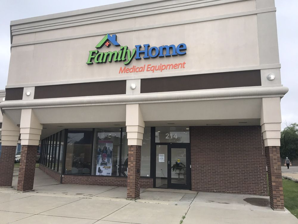 Family Home Medical Equipment: 214 E Geneva Rd, Wheaton, IL