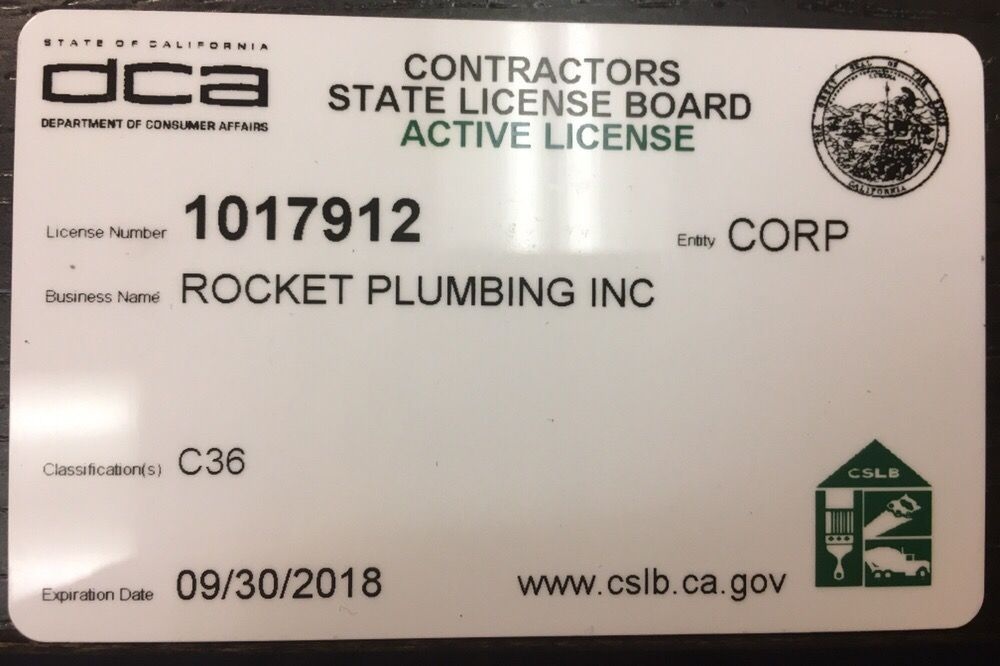 California Contractors License Yelp