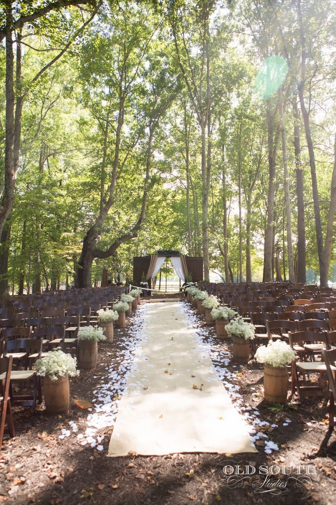 Beautiful Wedding Venue Under A Canopy Of Trees Yelp