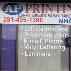 Ap printing printing services 11754 bellaire blvd alief photo of ap printing houston tx united states malvernweather Gallery