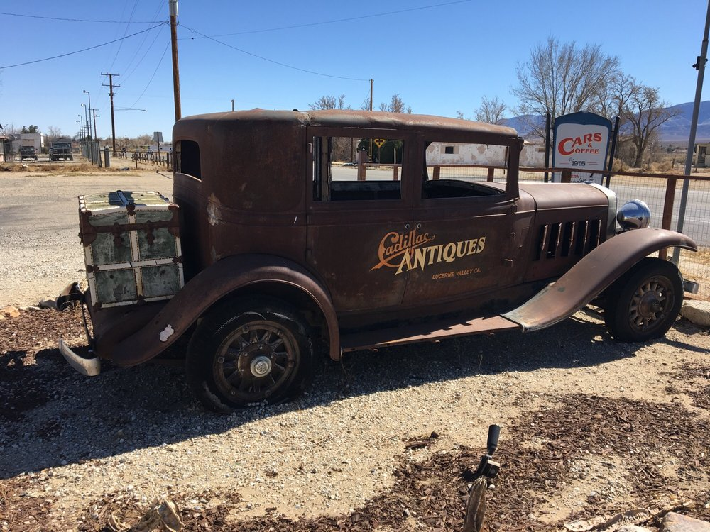 Cadillac Antiques: 32090 State Hwy 18, Lucerne Valley, CA