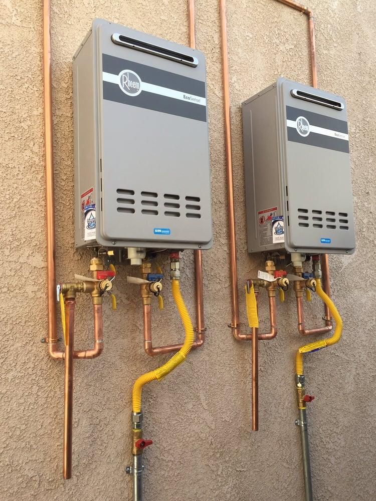 Rheem Tankless Water Heaters Yelp