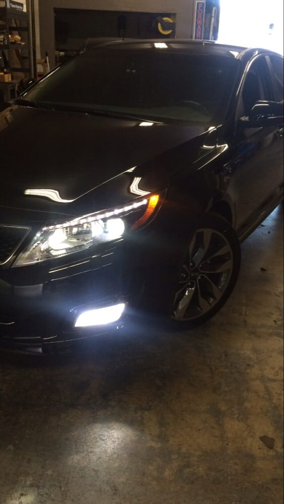 kia sporting the led lights on the fog lights yelp. Black Bedroom Furniture Sets. Home Design Ideas