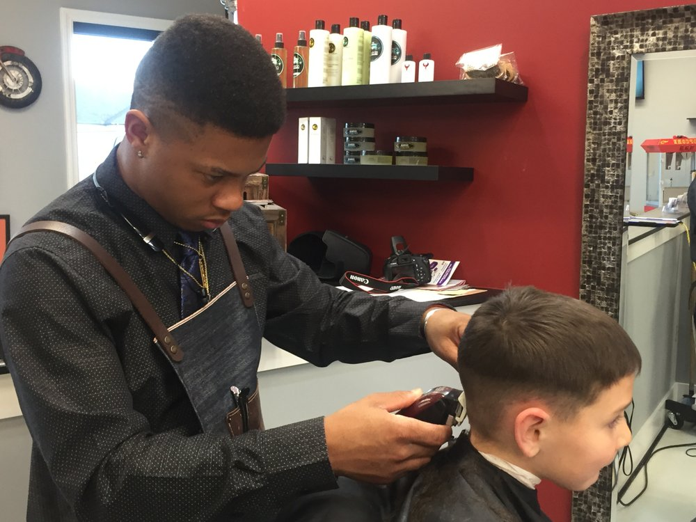 Always Professionalrquise Our Youngest Barber Starting A