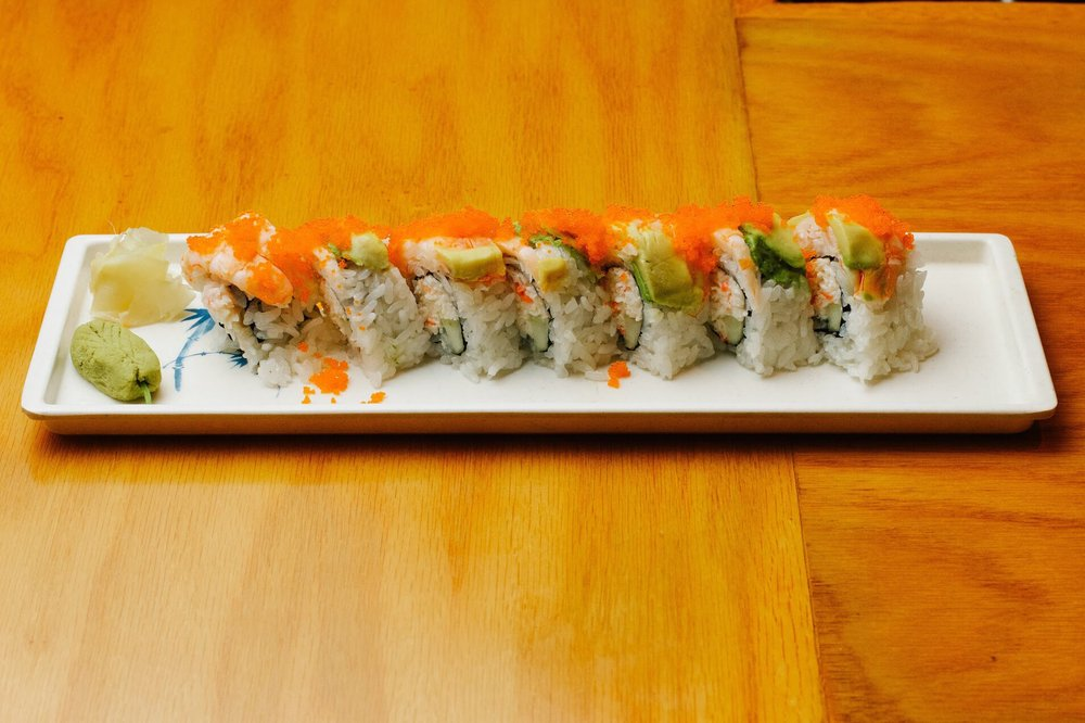 Delicious roll yelp for Akira japanese cuisine