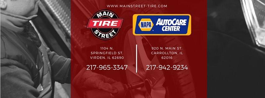 Main Street Tire: 920 N Main St, Carrollton, IL
