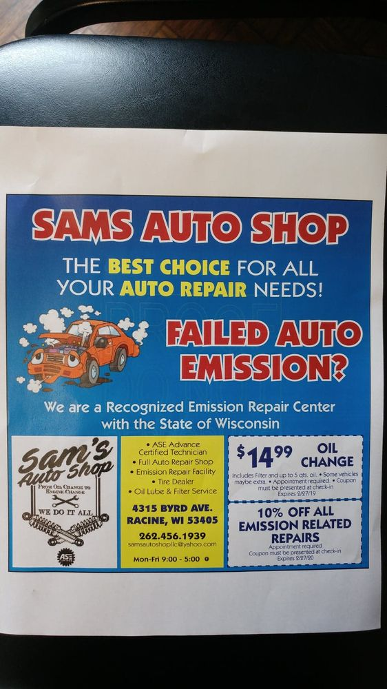 Sam's Auto Shop
