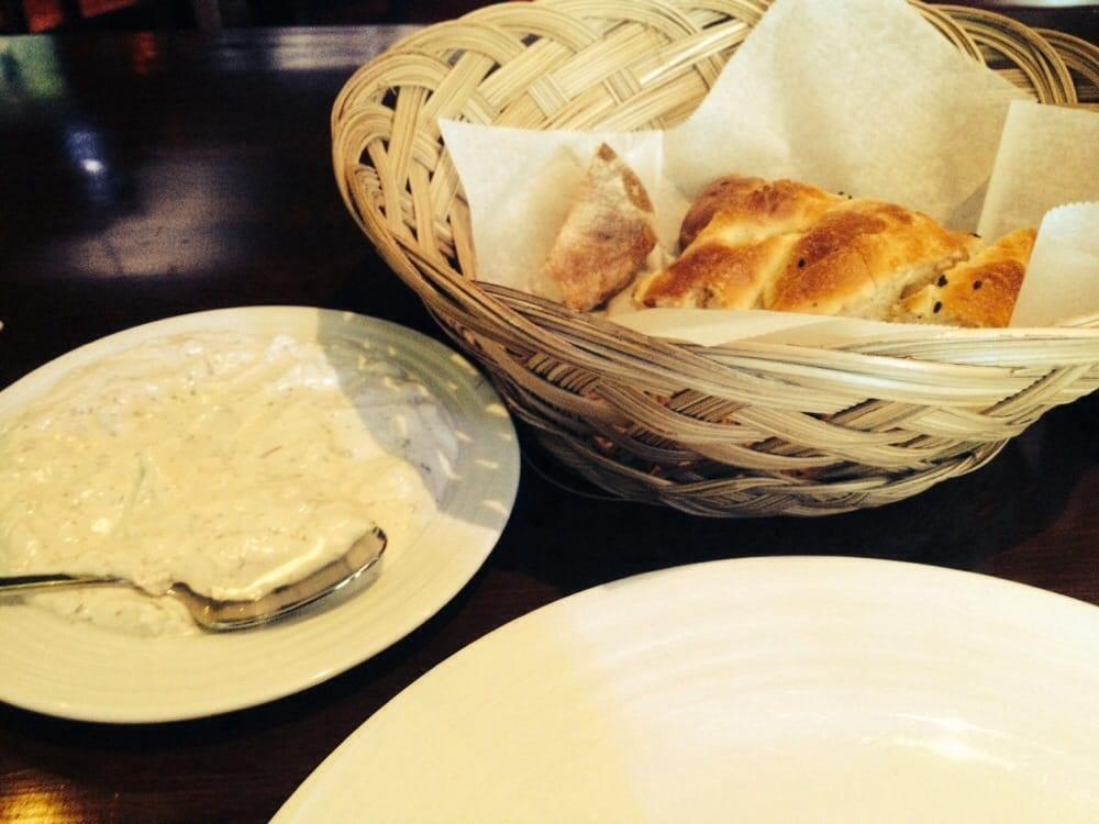 Haydari Yogurt Dip With Walnuts Mint Garlic Olive Oil
