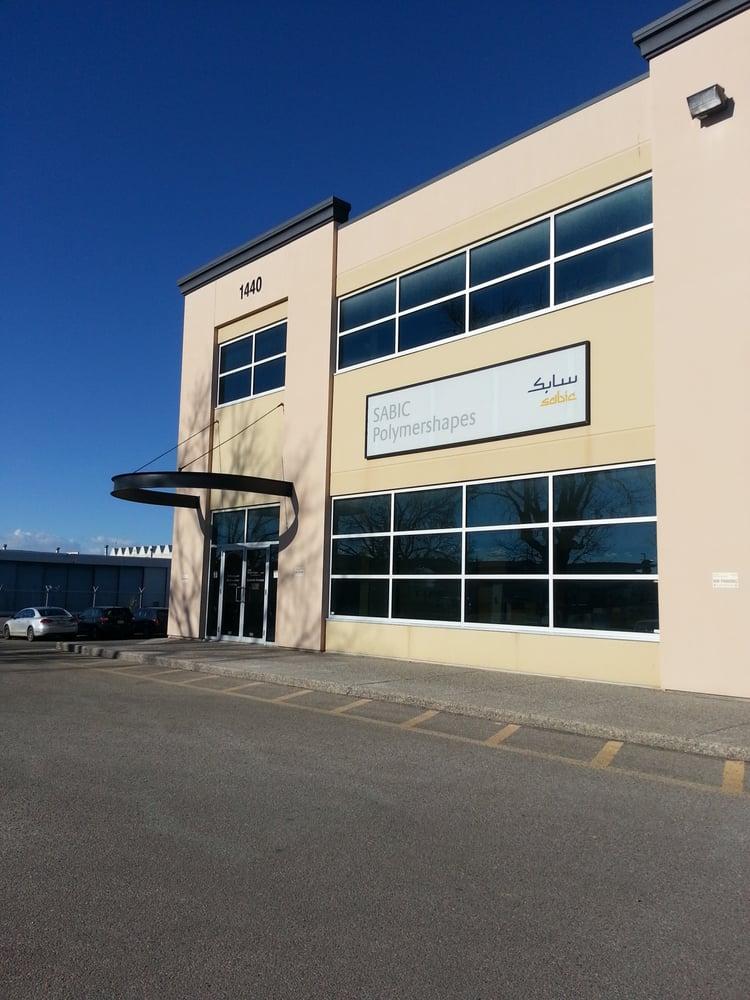 Sabic Polymershapes - 1440 Aviation Park NE, Calgary, AB