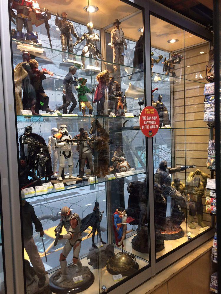 Midtown Comics Grand Central: 459 Lexington Ave, New York, NY