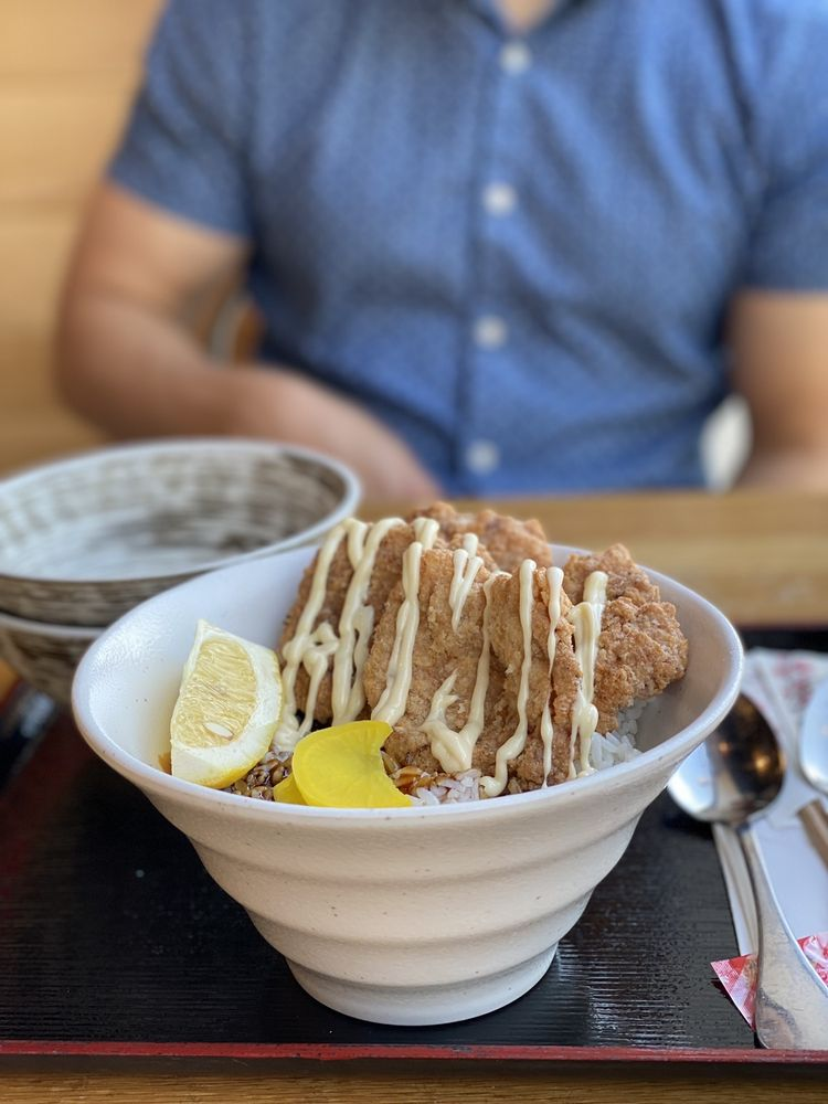 Food from Futago Udon
