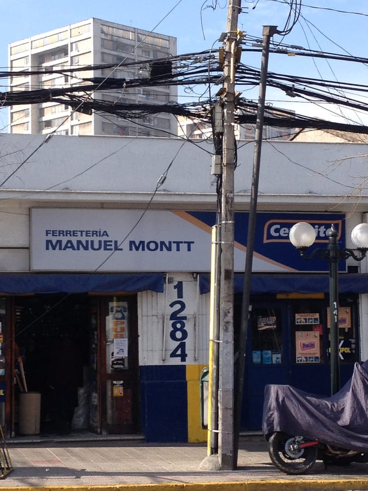 Ferreter a manuel montt ferreter as avenida manuel for Ferreteria cerca de mi ubicacion