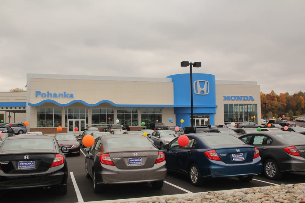 Honda Capitol Heights >> Pohanka Honda New 36 Photos 138 Reviews Car Dealers