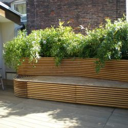 Photo Of Green Earth Gardens   Brooklyn, NY, United States. Terrace With  Seating