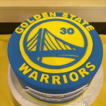 Warriors Cake Design