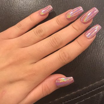 Chrome On Natural Nails | Best Nail Designs 2018
