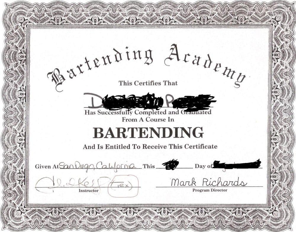 Professional Bartenders School - CLOSED - Cooking Schools - 3568 ...